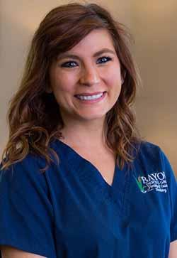 Photo of staff member, JN of Bayou Dental Group in Monroe, LA.