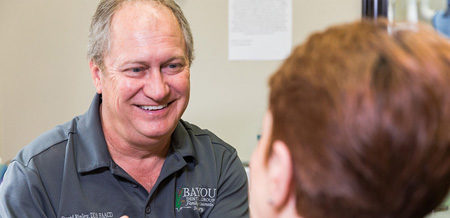 Photo of Monroe, LA general dentist Dr. David Finley of Bayou Dental Group.